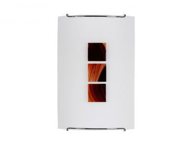 Nástěnné svítidlo KUBIK 1 cola 1567 1x60W E14 dekor Nowodvorski