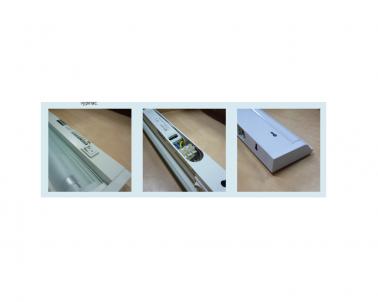 Přisazené výklopné svítidlo pod kuch.linku GANYS TL2016-21 stříbrné 21W T5 Ecoplanet - detail