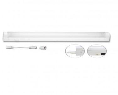 Přisazené svítidlo pod kuch.linku SLICK TL2001-13 bílé 13W T5 Ecoplanet