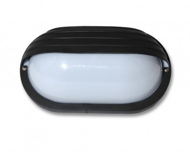 Venkovní nástěnné svítidlo NEPTUN  WH2606-CR 60W E27 černé Ecoplanet