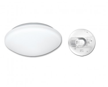 Stropní přisazené svítidlo VICTOR Ecoplanet W131-BI bílé s pohybovým čidlem