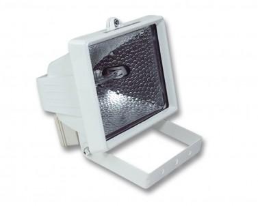 Venkovní halogenový reflektor REFLECTOR 150 R6105-BI 150W R7s bílý IP44 Ecoplanet