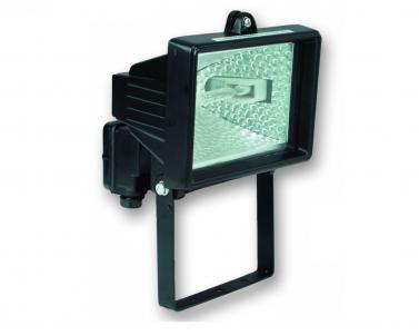 Venkovní halogenový reflektor REFLECTOR 150 R6105-CR 150W R7s černý IP44 Ecoplanet