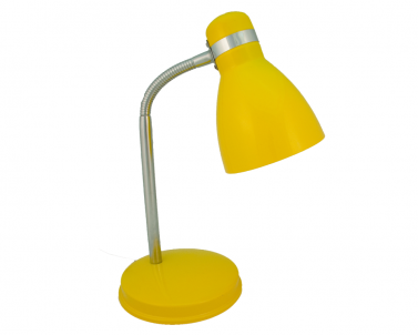 Stolní lampička FANDA 604.007 plech 40W E27 Nipeko - žlutá