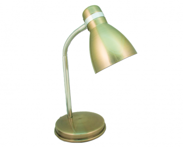 Stolní lampička FANDA 604.007 plech 40W E27 Nipeko - patina