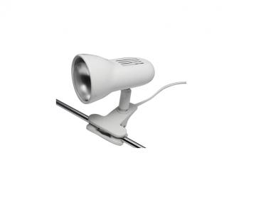 Stolní lampa se skřipcem CLIP 520/KL 40W E14 R50 bílá Nipeko