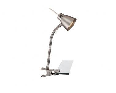 LED stolní lampa se skřipcem NUOVA 2476L 3W GU10 Globo