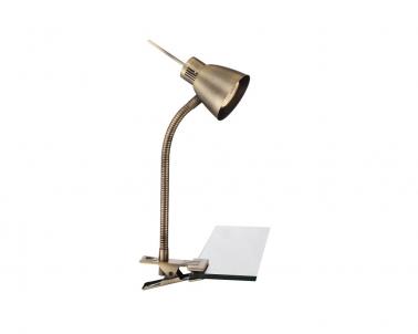 LED stolní lampa NUOVA 2477L 3W GU10 se skřipcem Globo