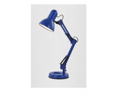 Stolní lampa FAMOUS 24883 40W E27 modrá Globo