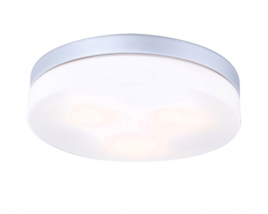 Stropní koupelnové svítidlo VRANOS 32113 3x40W E27 IP44 Globo