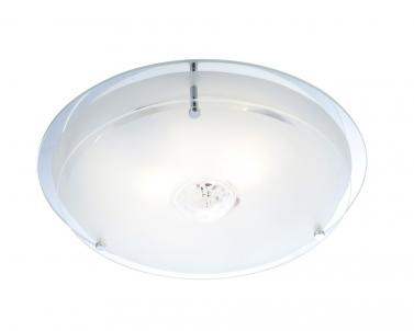 Stropní přisazené svítidlo MALAGA 48527 2x60W E27 Globo