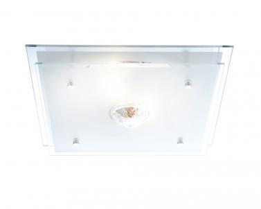 Stropní přisazené svítidlo MALAGA 48528 2x60W E27 Globo