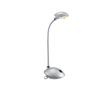 Stolní LED lampa DASIUS 24106 3W stříbrná Globo
