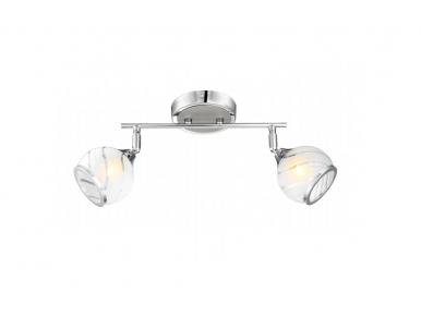 Stropní a nástěnné svítidlo AILA 56568-2 2x33W G9 Globo