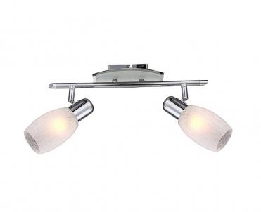 Nástěnné bodové svítidlo CYCLONE 54917-2 2x40W E14 Globo
