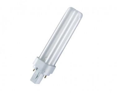 Kompaktní zářivka DULUX D 18W/840 G24d-2 studená bílá Osram