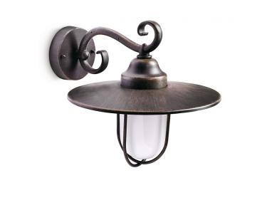 Venkovní nástěnné rustikální svítidlo PASTURE 16270/86/16 53W E27 IP44 Philips