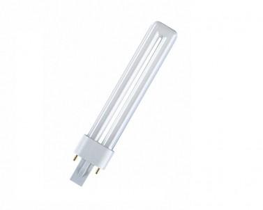 Kompaktní zářivka DULUX S 11W/840 G23 studená bílá Osram