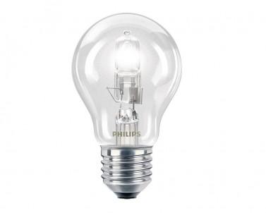 Halogenová žárovka EcoClassic30 42W/E27 A55 CL 1CT Philips