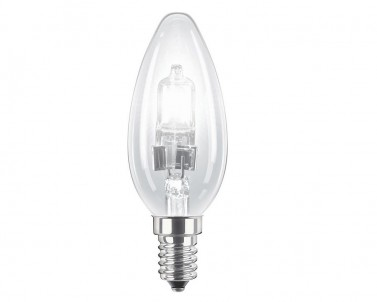Halogenová žárovka svíčka EcoClassic Candle 42W/E14 B35 Philips