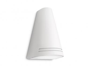 Venkovní nástěnné svítidlo WOODS 17226/31/16 15W E27 bílé IP44 Philips