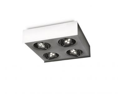 Stropní LED bodové svítidlo RADAR 57986/31/16 4x7,5W Philips