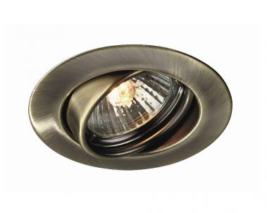 Zápustné bodové výklopné svítidlo OPAL 59333/06/10 50W GU10 bronz Massive
