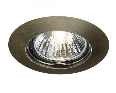Zápustné bodové svítidlo ALPHA 59393/06/10 50W GU10 bronz IP23 Massive