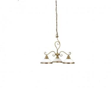 Závěsné rustikální svítidlo ELISETT 2753 3x60W E27 bronz Rabalux