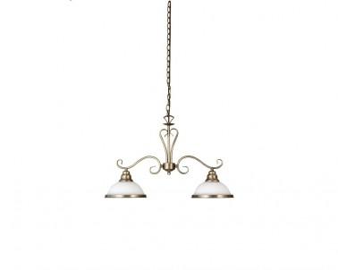 Závěsné rustikální svítidlo ELISETT 2757 2x60W E27 bronz Rabalux