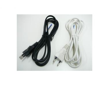 Flexo šnůra s vidlicí 3m PVC plochá H03VVH2-F 2x0,75 různé barvy Ezr