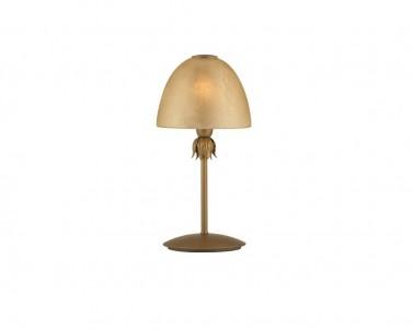 Stolní lampa VIRGO 3041000 1x42W E14 zlatá Viokef