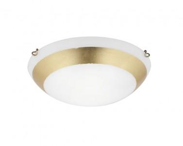 Stropní přisazené svítidlo PICASSO 3051400 2x42W E27 zlatá Viokef