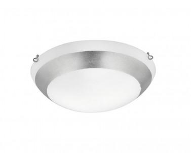 Stropní přisazené svítidlo PICASSO 3051401 2x42W E27 stříbrné Viokef
