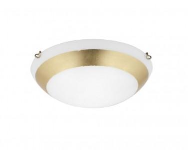 Stropní přisazené svítidlo PICASSO 3051500 2x42W E27 zlatá Viokef