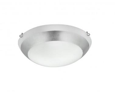 Stropní přisazené svítidlo PICASSO 3051501 2x42W E27 stříbrné Viokef