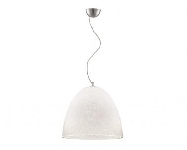 Závěsný lustr ROSS 3082500 70W E27 skleněný bílý Vokef