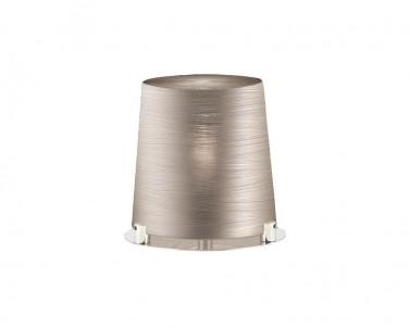 Stolní designová lampa TORRE 3055905 18W E27 skleněná šedá Viokef