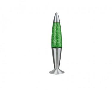 Stolní lávová lampa GLITTER zelená Rabalux