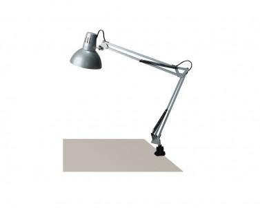 Stolní klasická lampa ARNO 4216 1x60W E27 stříbrná Rabalux