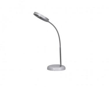 Stolní LED lampa FRANK 4317 5W 4500K šedá Rabalux