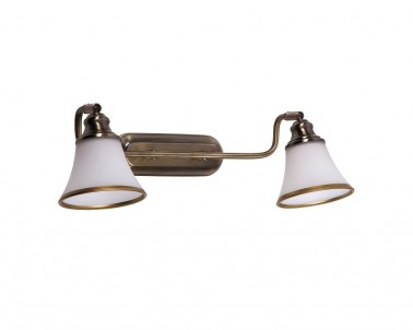 Nástěnné svítidlo GRANDO 6546 2x40W E14 bronz Rabalux