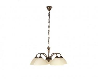 Závěsné svítidlo REGINA 8175 5x40W E14 bronz Rabalux