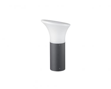 Venkovní sloupkové svítidlo IBIZA 4136500 23W E27 IP44 antracit Viokef