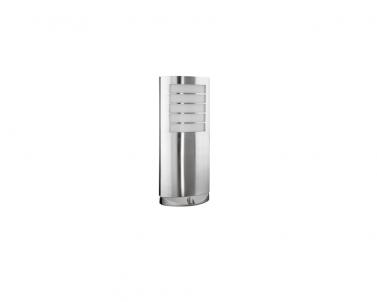 Venkovní sloupkové svítidlo OSLO 1727/01/47 20W E27 nerez IP44 Massive
