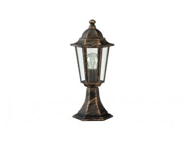 Venkovní sloupkové svítidlo VELENCE 8236 60W E27 antik zlatá IP43 Rabalux