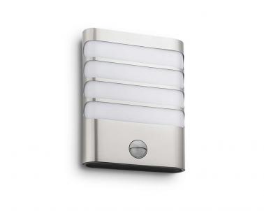 Venkovní LED nástěnné svítidlo RACCOON 17274/47/16 3W se senzorem IP44 Philips