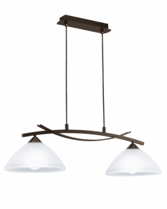 Závěsné stropní svítidlo VINOVO 91433 2x60W/E27 lustr EGLO
