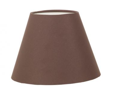 Stínítko - širm na stolní lampu VINTAGE 49418 prům. 205 E14 hnědé Eglo