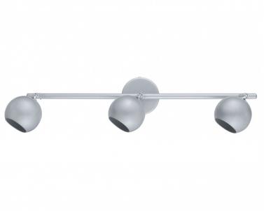 Stropní přisazené bodové svítidlo GALB 30003 3x50W GU10 stříbrné Eglo